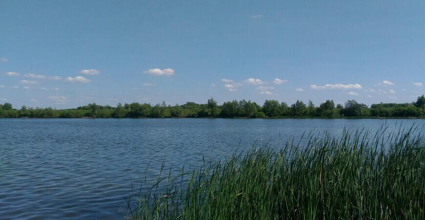 Озеро Орловское в Новокуйбышевске