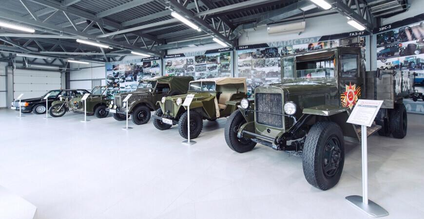 Музей ретро-автомобилей<br/> в Вологде