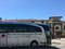 А на таких специальных автобусах привозят участников шоп-туров