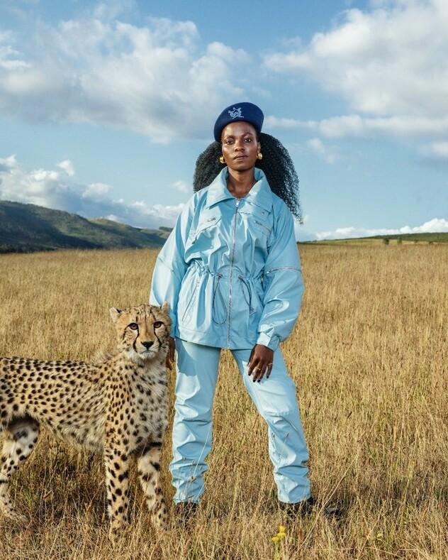 Фотосессия для журнала Vogue Italia