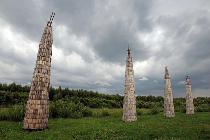 Арт-парк в Никола-Ленивце