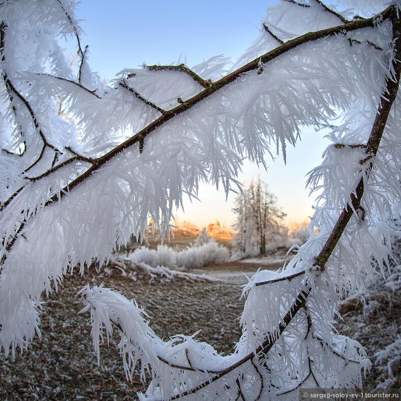 Ледяные образования на вершине горы в Словении фотограф Марко Корозек (Marko Korosec)