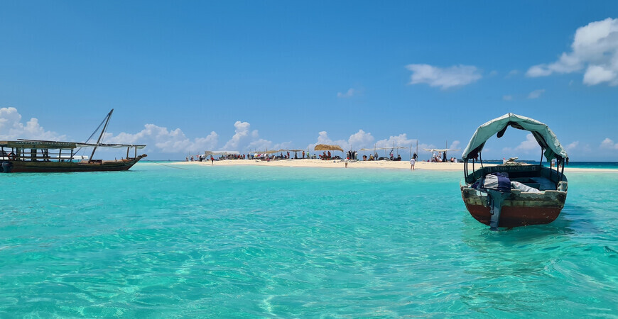 Пляж Накупенда <br/> (Исчезающий остров)