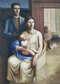 Портрет художника с семьей,1925 год