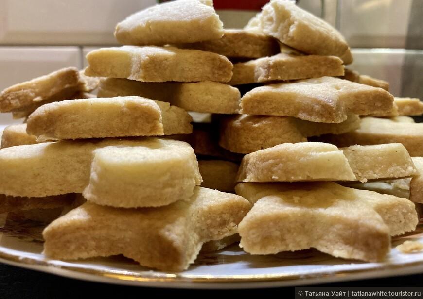 Ах, это песочное печенье! Scottish Shortbread.
