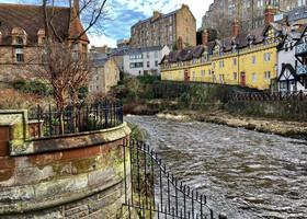 Прогулка по деревне Дин. Эдинбург