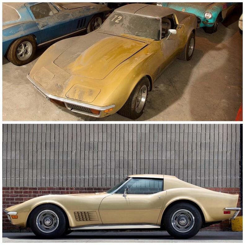 36 пропавших Корветов: легендарная коллекция машин, которую считали утерянной почти 30 лет