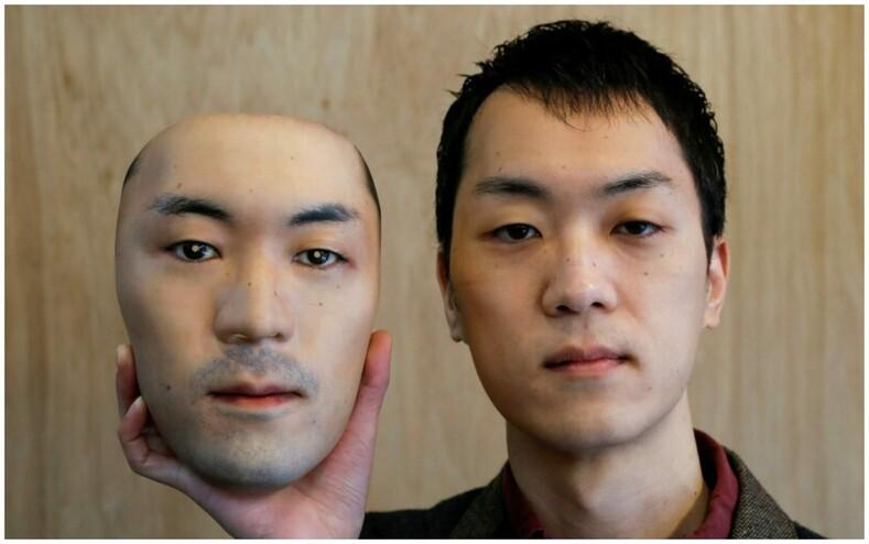 Носить чужое лицо мужчина создал гиперреалистичные маски, с помощью которых можно превращаться в других людей
