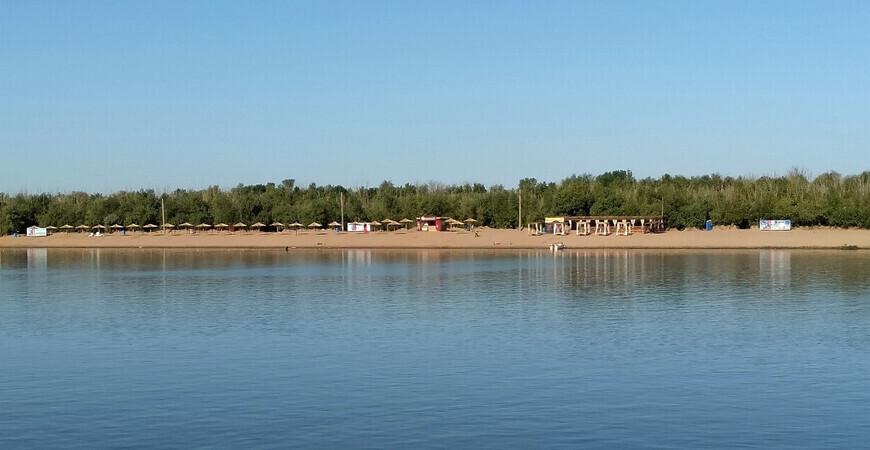 Городской пляж Астрахани
