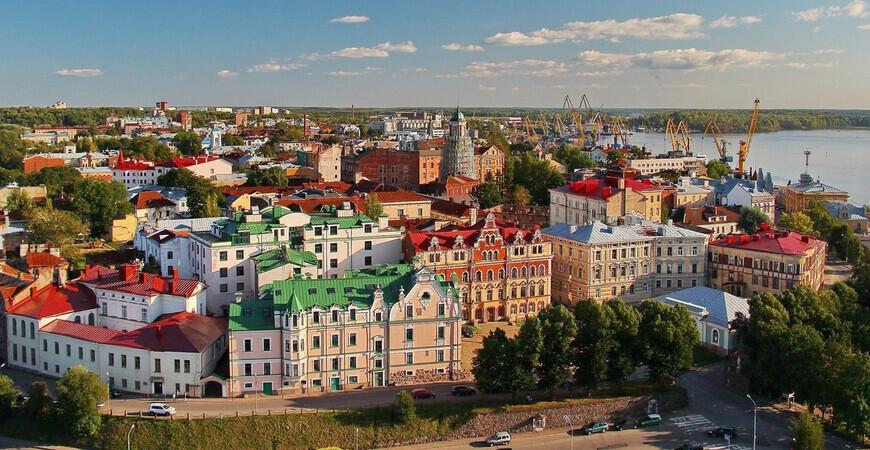 Старый город Выборга