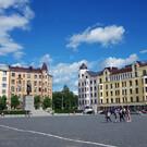 Красная площадь в Выборге