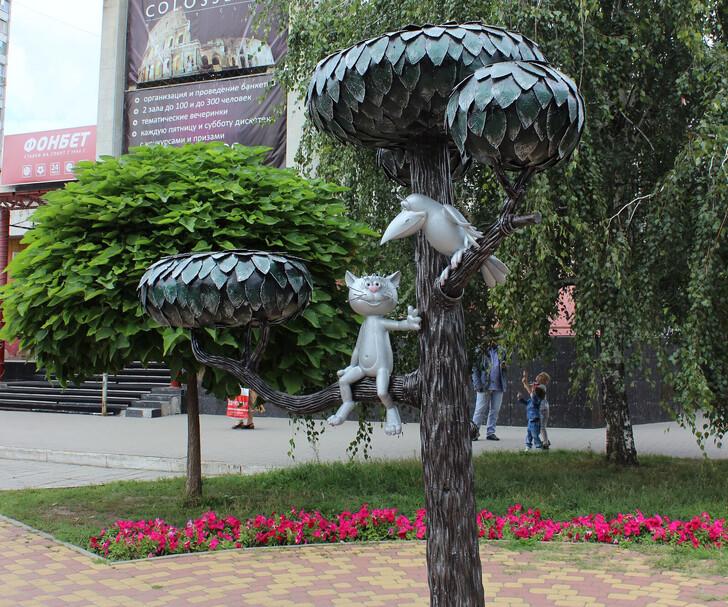 Памятник «Котенок с улицы Лизюкова»