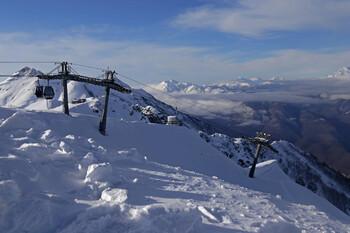 В Сочи ожидается снегопад и сход лавин