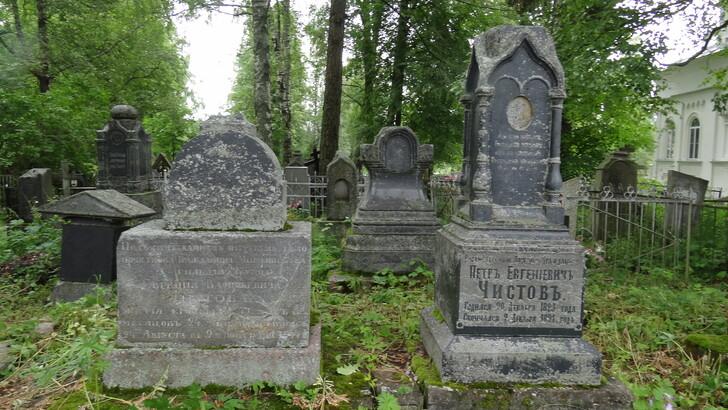 Кладбище у Скорбященской церкви