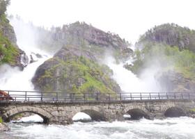По Норвегии на авто: дорога до Лотефоссена
