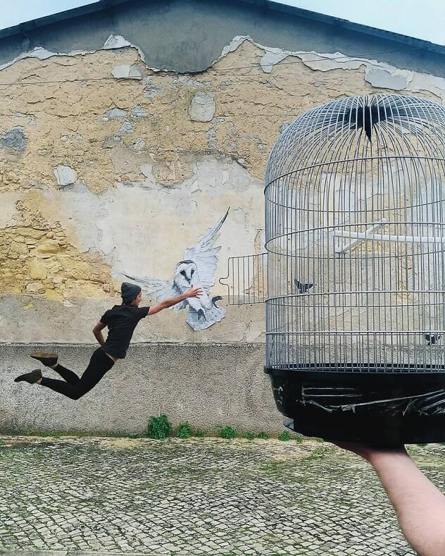 Португальский фотограф-самоучка делает серию снимков, на которых он преображает повседневные вещи вокруг