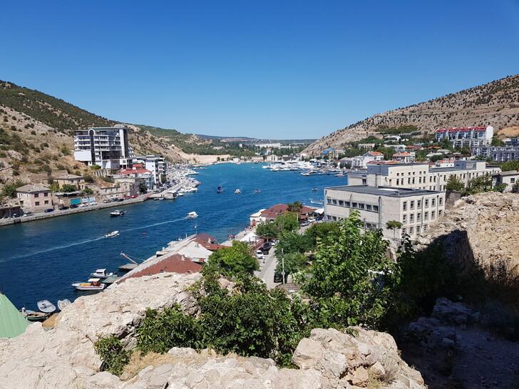 Вид на город от генуэзской крепости