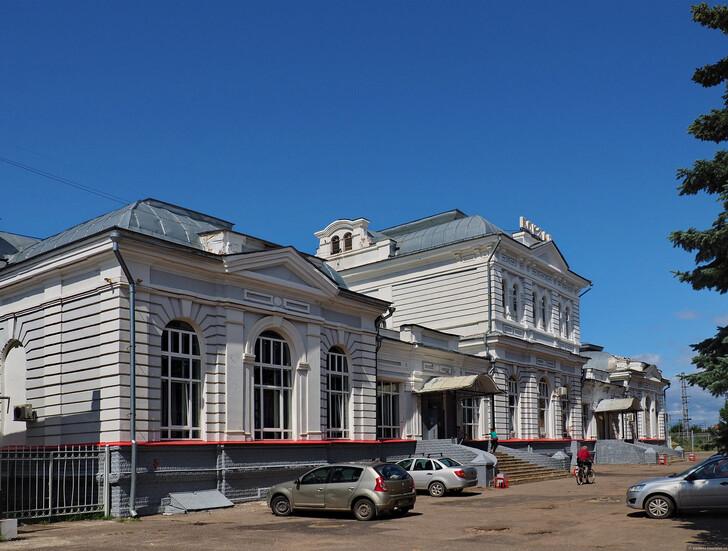 Железнодорожный вокзал 1903 г. строительства