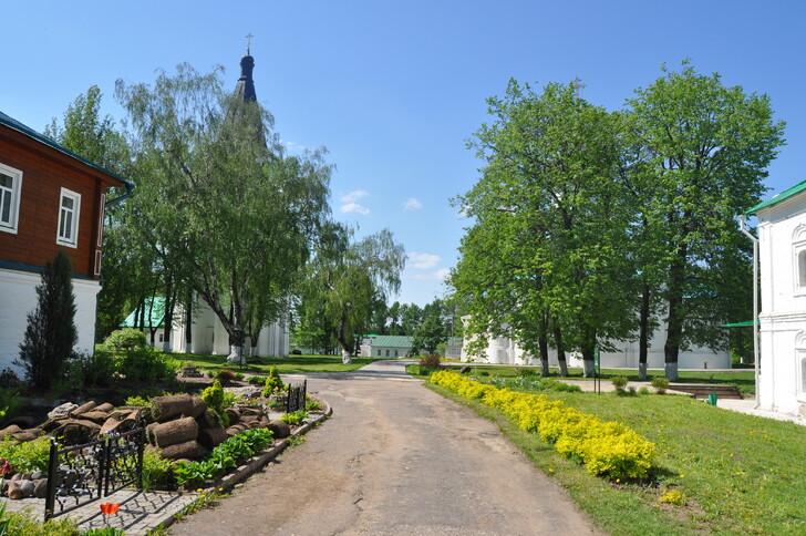 На территории Александровской слободы