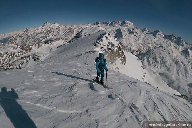 Скитур Альпы Валле д'Аоста