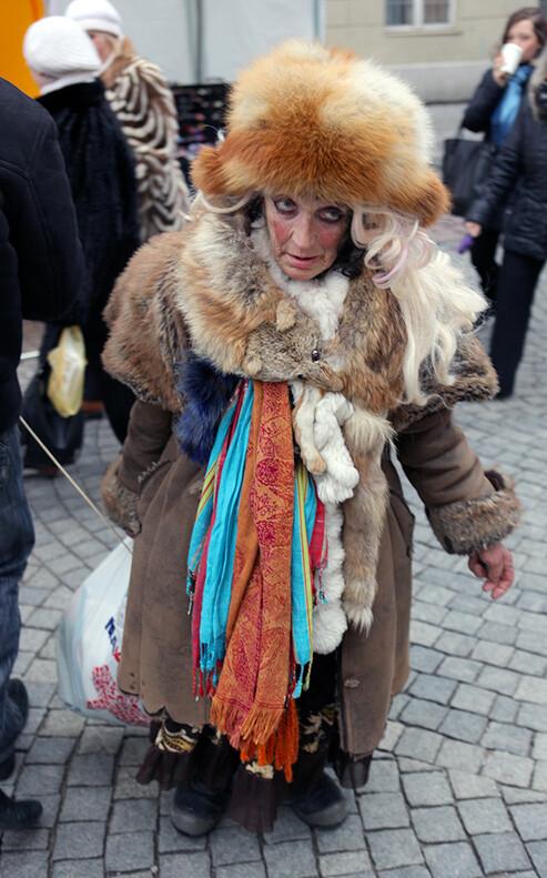 Живая достопримечательность Вильнюса.