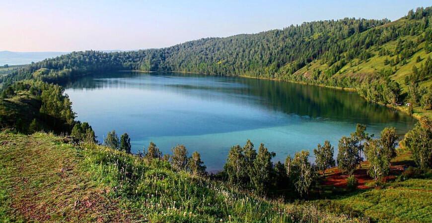 Озеро Круглое (Келинголь) в Шарыповском районе