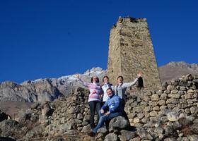 Экскурсия по трем ущельям Северной Осетии зимой