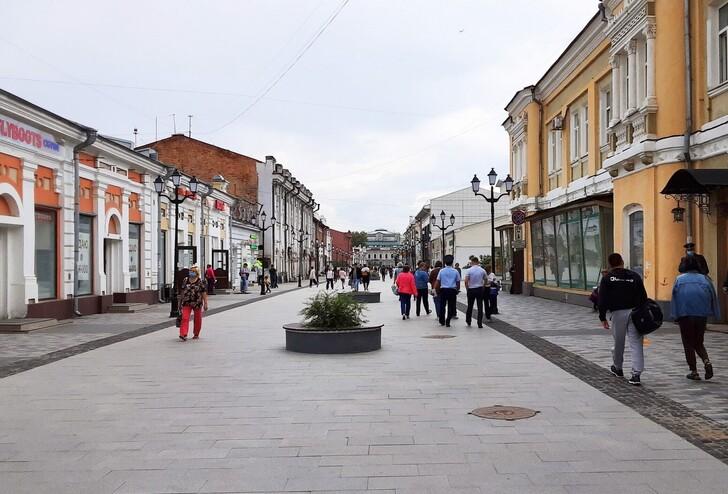 Пешеходная улица Урицкого
