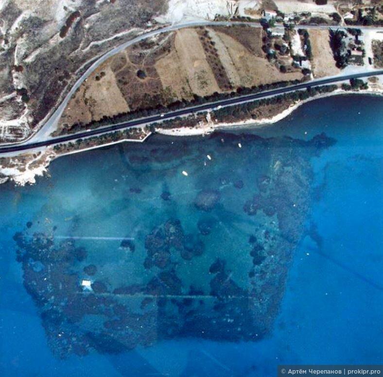 Древний город Аматус превратится в подводный археологический парк