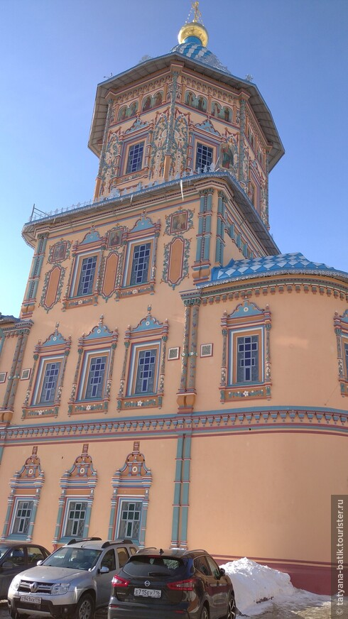 Казань проездом. Петропавловская церковь