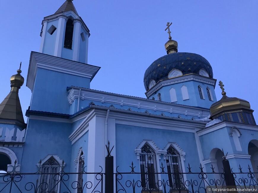 Магнитогорск проездом. Церковь Михаила Архангела