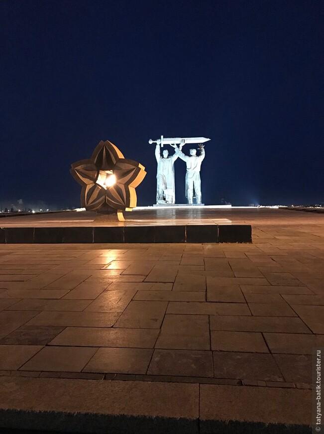 Магнитогорск проездом. Монумент Тыл  фронту