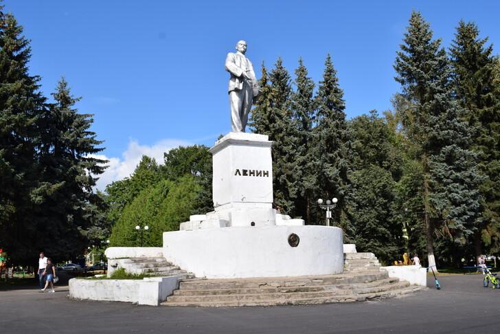 В.И. Ленин на Советской площади