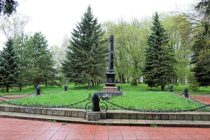 Памятник В.В. Грацинскому
