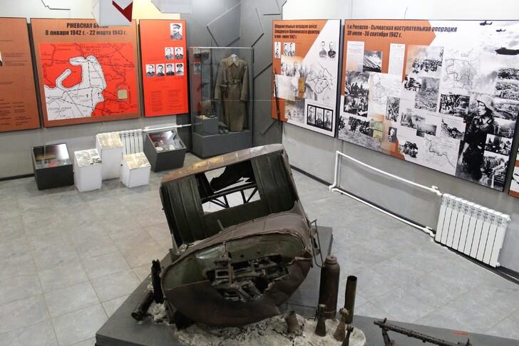 Из экспозиции Музея военной истории Ржева