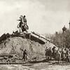 Освобождат памятник Петру I