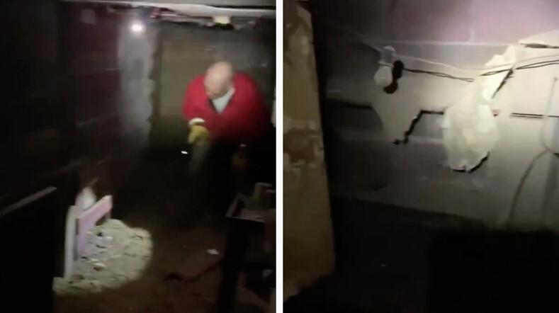 Семья из Калифорнии обнаружила вход в секретное бомбоубежище времен холодной войны у себя в спальне