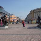 Площадь Труда в Иркутске