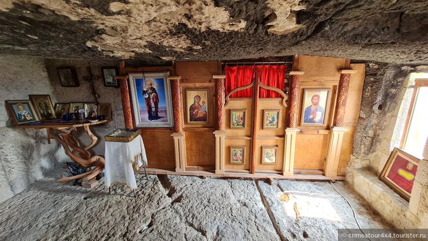 пещерный монастырь Челтер Мармара