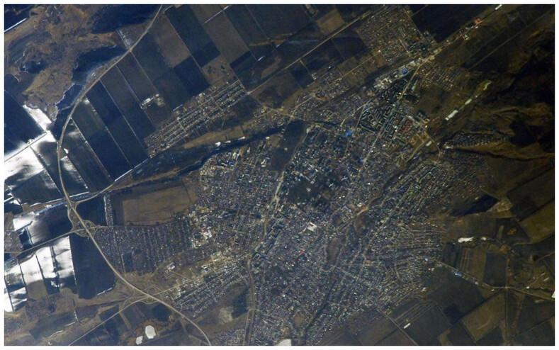 27 фотографий городов России, сделанных космонавтами с МКС: когда родные места особенно прекрасны с высоты орбиты