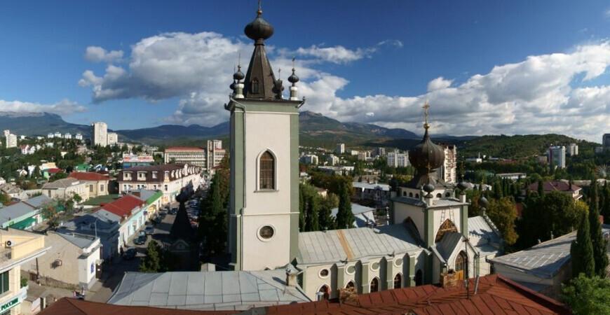 Храм всех Крымских Святых<br/> и Феодора Стратилата