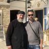 Фото с отцом Поликарпом в монастыре Богородицы Кассопитрас