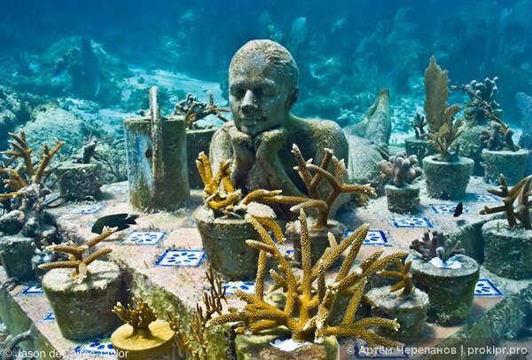 На Кипре открывается парк подводных скульптур