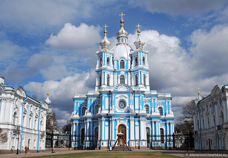 Растрелли в Петербурге и Смольный собор (экскурсии в Санкт-Петербурге)