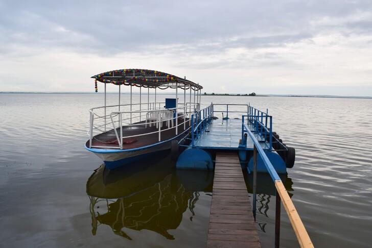 Пристань на озере Неро
