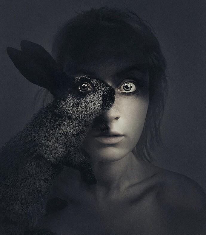 Королева фотошопа 15 автопортретов фотографа Флоры Борси с глазами диких животных