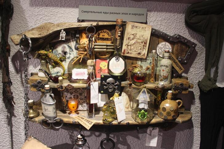 Экспозиция Музея черепов и скелетов
