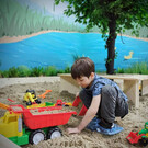 Детское песочное пространство «Джуманджи»