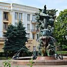 Памятник-фонтан «Нарт Сослан»