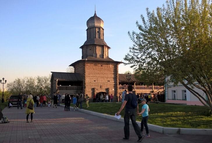 Фрагмент крепости на Воскресенской горе